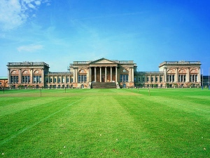 The South Front of Stowe House, Stowe School, Buckingham, England