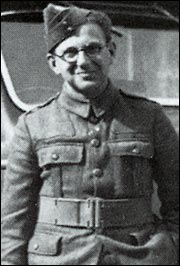 Nicholas Winton as an ambulance driver in France in 1940