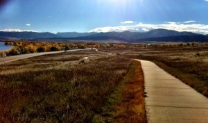 Some of the beautiful scenery at Chatfield Reservoir