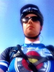 During one of my early rides