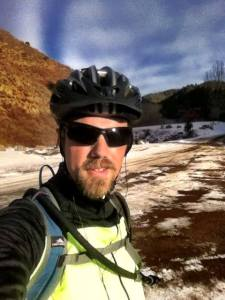 Riding the Waterton Canyon trail