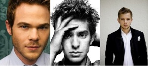 Played by Aaron Ashmore, Andrew Garfield or Max Thieriot