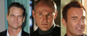 Played by Brian Van Holt, Colm Feore or Julian McMahon (left to right)