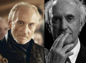 Played by Charles Dance or Jonathan Pryce (left to right)