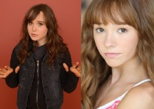 Young Vin played by Ellen Page or Holly Taylor