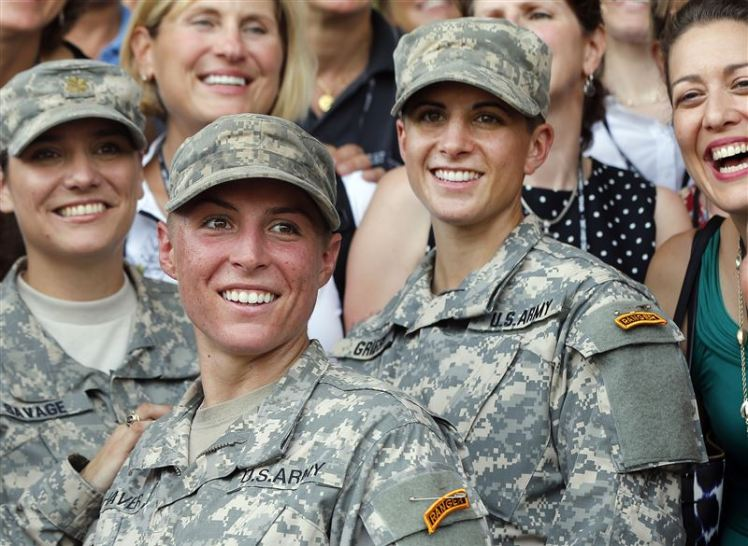 The first two female Ranger School graduates!