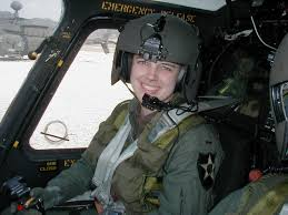 Cpt. Kimberly Hampton, OH-58D Kiowa Warrior helicopter pilot. US Army, D Troop, 1st Squadron, 17th Cavalry. First woman helicopter pilot killed in Iraq. Died in Fallujah January 2, 2004