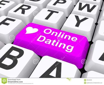 online-dating-detail-computer-keyboard-purple-double-sized-key-marked-white-heart-text-concept-35845668