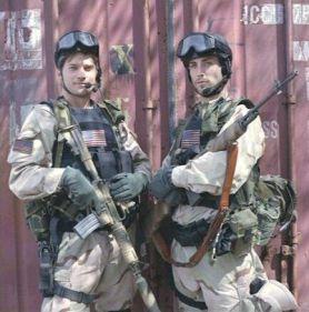 Nikolaj Coster-Waldau and Johnny Strong